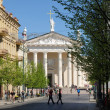 Stock Photo: Vilnius city day life: 2012 05 01
