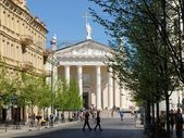 Vilnius city day life: 2012 05 01 — Stock Photo