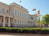 Litauiska presidentens palats i vilnius, litauens huvudstad — Stockfoto