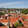View to the Vilnius city well know places — Stock Photo