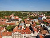 Vilnius - one of ancient european cities — Stockfoto
