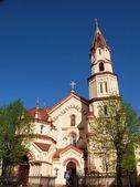 Orthodoxe kirche in der hauptstadt von litauen. — Stockfoto