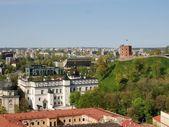 Pałac wielkich książąt i giedymina wieża zamek — Zdjęcie stockowe