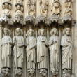 The apostles, Notre Dame de Paris (France) — Stock Photo