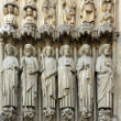 The apostles, Notre Dame de Paris (France) — Stockfoto