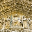 Royalty-Free Stock Photo: Judgment Day, Notre Dame de Paris