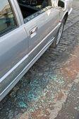 Glass breakage — Stock Photo