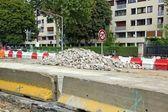 Major road works — Stock Photo