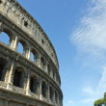 The Coliseum (Rome Italy) — Stock Photo