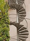 Spiral staircase in Paris — Stock Photo