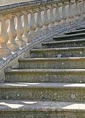 Treppe von einem alten herrenhaus — Stockfoto