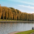 Stock Photo: Grand Canal and joggers