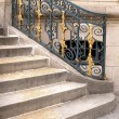 Foto Stock: Bannister of castle