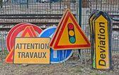 Yol işaretleri — Stok fotoğraf
