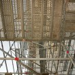 Scaffolding from below — Stock Photo
