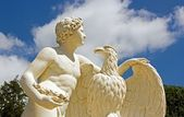 Ganymede and the Eagle Zeus — Stock Photo