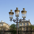 Former Parisian lamppost — Stock Photo