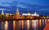 Moscow Red Square at night — Stock Photo
