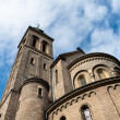 St. Gabriel's church tower, Prague, Czech Republic - Stock Photo