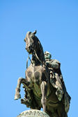 Statue King John of Saxony, Dresden, Germany — Stock Photo