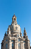 Dome of Frauenkirche, Dresden, Germany — Stock Photo