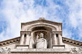 Sculpture of Jesus, Sacre Coeur Cathedral, Paris, France — Stock Photo