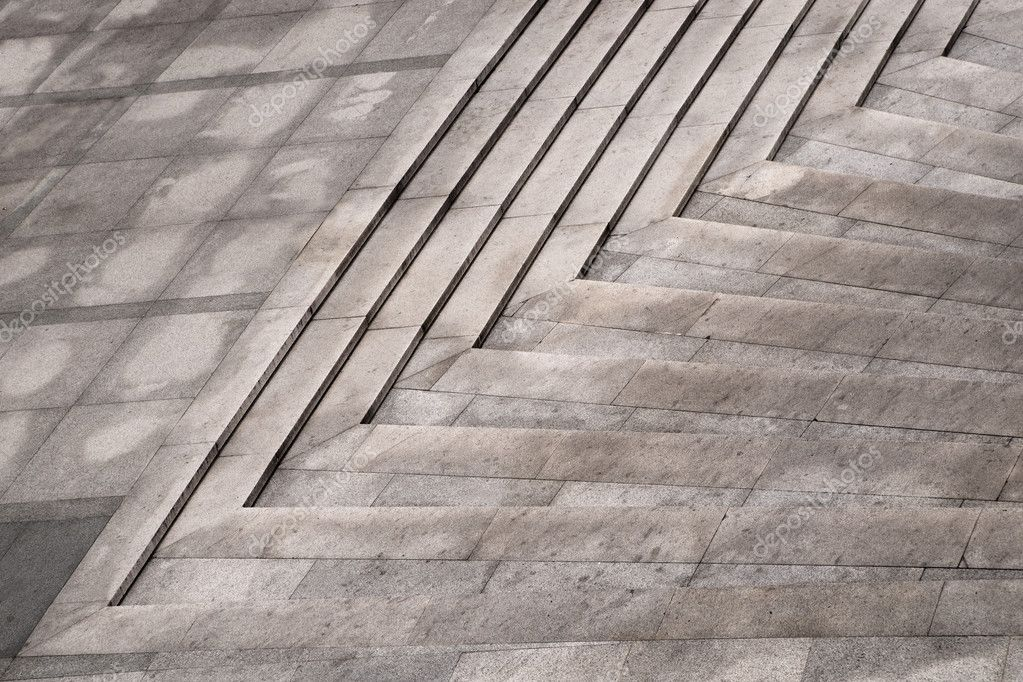Close up of granite staircase — Stock Photo #8094249