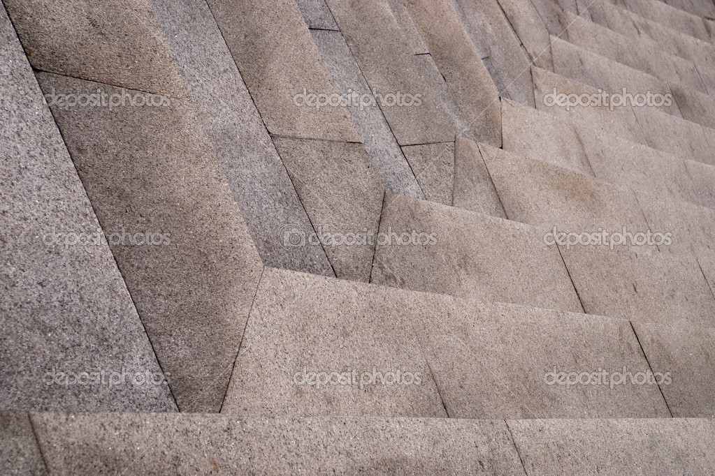 Close up of granite staircase — Stock Photo #8094369