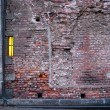 Brick wall with window — Stock Photo #8110963
