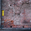 Brick wall with window — Stock Photo #8110963