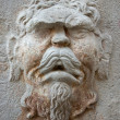Stone face - Stock Photo