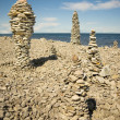 Piles of rock — Stock Photo