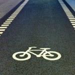 Bicycle symbol — Stock Photo