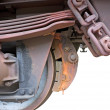 Train brake - Stock Photo