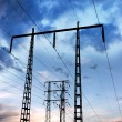 Electricity pylon — Stockfoto