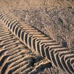 Tire tracks — Stock Photo #8244288