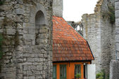 Old house in Visby — Stock Photo