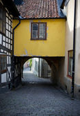 Street in Visby — Stock Photo