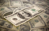 Billete de 100 dólares — Foto de Stock