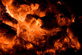 Fire and glow — Stock Photo