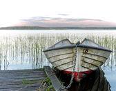 Barca ormeggiata — Foto Stock