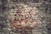 Vintage brick wall — Stock Photo