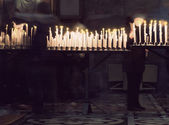 Candles in church — Photo