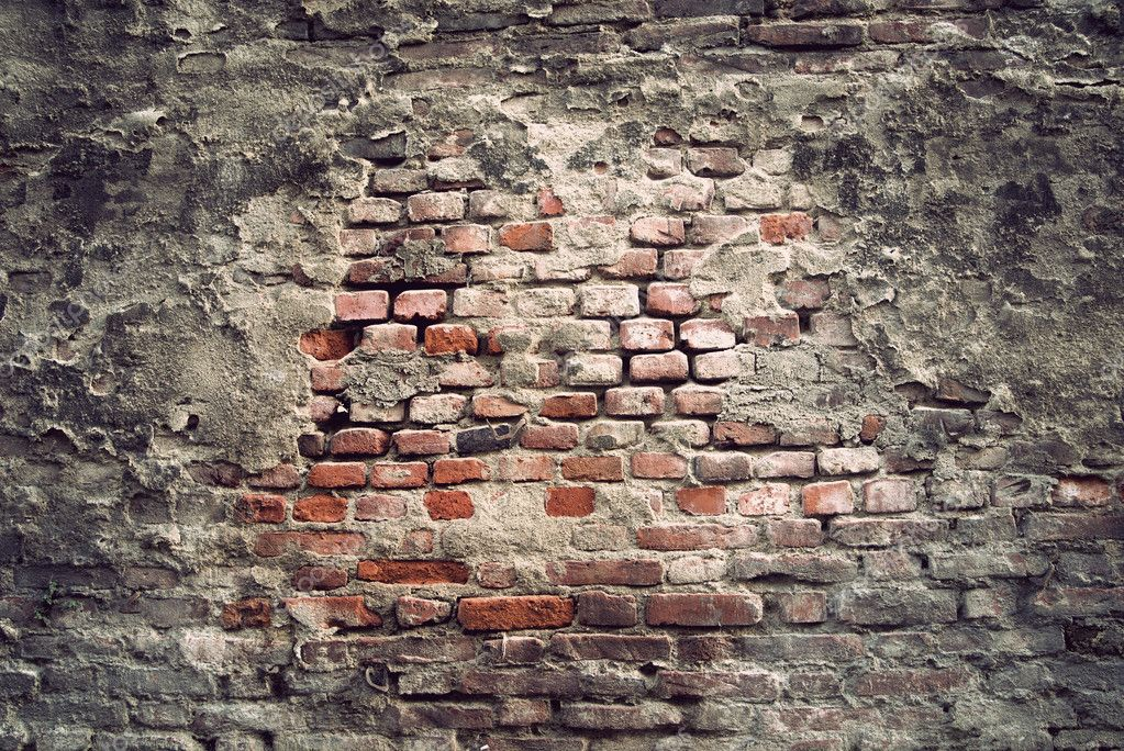 Background of brick wall with vintage look — Stock Photo #8339535