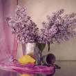 Still life with lilac — Stock Photo #8396639