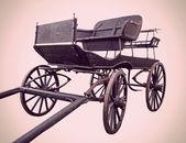 Carro de caballo vintage — Foto de Stock