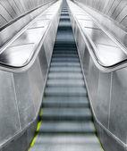 Prázdné eskalátory — Stock fotografie