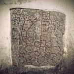 Ancient rune stone — Stock Photo