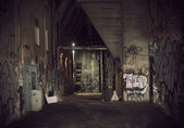 Dark alley — Stock Photo