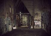 Dark alley — Stock Photo